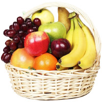 Best Bhaidooj Gifts in Mumbai together with 2 Kg Fresh Fruits Basket