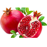 Buy 1 Kg Fresh Pomegranate with Bhaidooj Gift to Mumbai