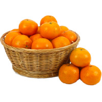 Send Online Bhaidooj Gifts to Mumbai including 18 pcs Fresh Orange Basket