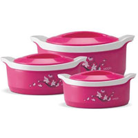Send Diwali Gifts to Panval take in Marvel Casserole Gift Set 3 pcs
