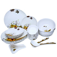 Place Order for Diwali Gifts in Andheri consisting Melamine Dinner Set 28 Pcs