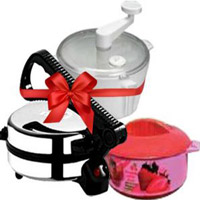 Deliver Casserole and a Set of 3 Aatta Maker, Roti Maker as Diwali Gifts in Akola