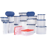 Diwali Gifts to Pune that includes Signoraware 20 Pcs. Organise Kitchen Set Blue