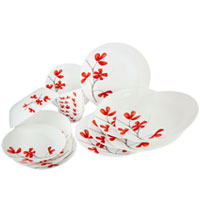 Diwali Gifts in Mumbai incorporated with La Opla Dinner Set 19 pcs for your families