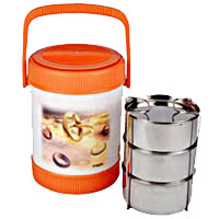 Legend Office 3 Containers Lunch Box Buy for Diwali Gifts in Akola
