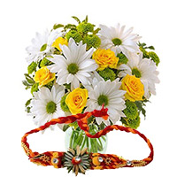 Rakhi Flowers to Mumbai
