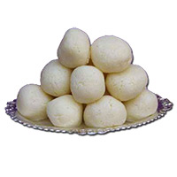 Best Gift Delivery for Friendship Day of 1 Kg Rasgulla, Sweets in Mumbai