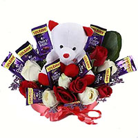 Valentine's Day Chocolates Bouquet to Mumbai