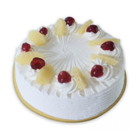 Send 500 gm Pineapple Cake Delivery in Mumbai at Midnight