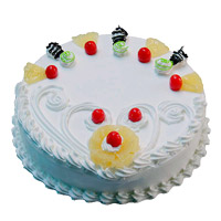 Valentine's Day Cake Delivery in Mumbai - Pineapple Cake