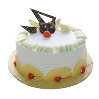 Deliver Valentine's Day Cakes to Mumbai - Pineapple Cake From 5 Star