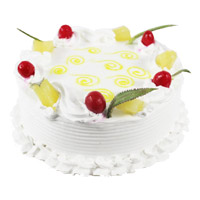 Deliver Cakes in Mumbai. Send 2 Kg Pineapple Cake From 5 Star Hotel