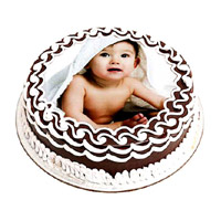 Send Karwa Chauth Cakes to Mumbai - 1 Kg Photo Cake