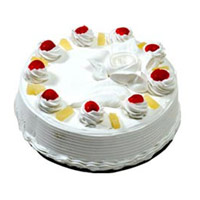 Same Day Cake Delivery Mumbai - 1 Kg Pineapple Cake