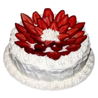 Karwa Chauth Cakes to Mumbai - Strawberry From 5 Star
