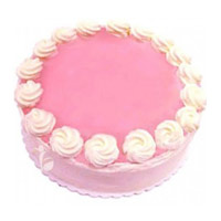 Karwa Chauth Cakes to Mumbai - Strawberry Cake