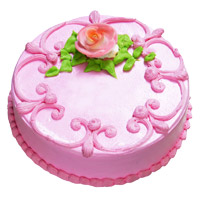 Eggless Valentine's Day Cakes in Mumbai - Strawberry Cake