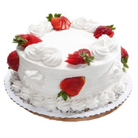 Online Valentine's Day Cakes to Mumbai - Strawberry Cake From 5 Star