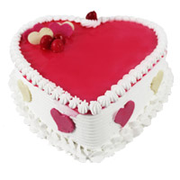 Heart Shape Cake Delivery in Mumbai