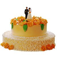 Send Online Tier Cakes to Mumbai