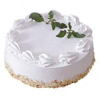 Best Midnight Cake Delivery in Mumbai for 2 Kg Vanilla Cake From 5 Star Hotel