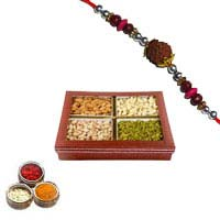 Send 0.5 Kg mix Dryfruits with 1 Rakhi Delivery in Mumbai