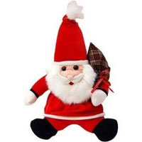 Deliver Santa Claus Soft Toy in Mumbai on Christmas. Gifts in Navi Mumbai