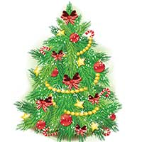 Deliver X-Mas Tree (3 Feet) to Mumbai. Christmas Gifts in Mumbai